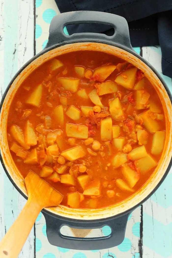 Spicy & Fragrant Vegan Potato Curry