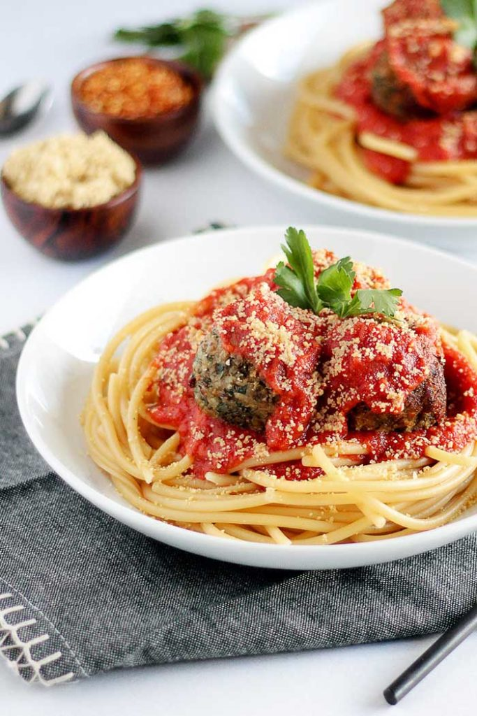 Vegan Italian Meatballs