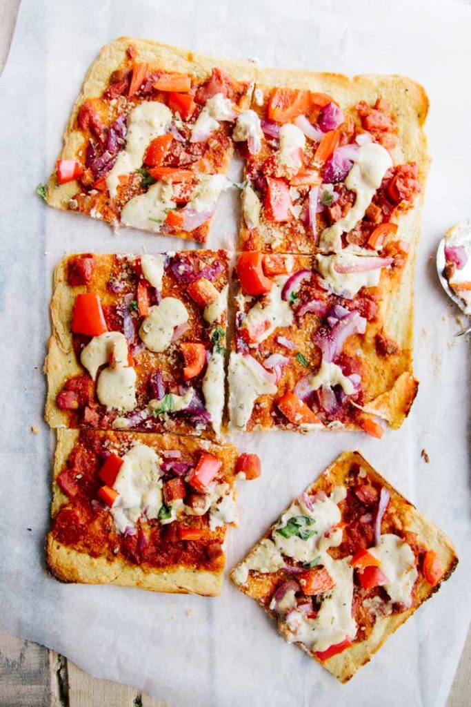 Socca Gluten-Free Pizza