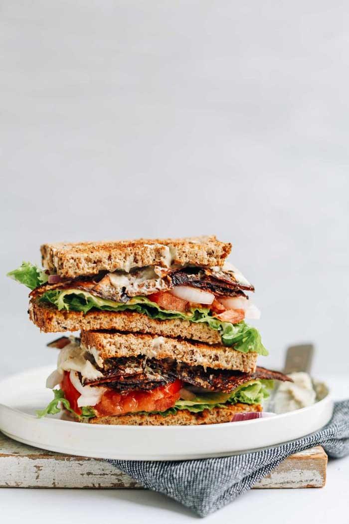 "Vegan ""BLT"" Sandwich"