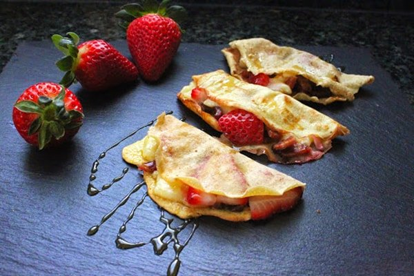 Gluten-Free Coconut Flour Crepes