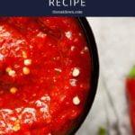 best chili paste recipe