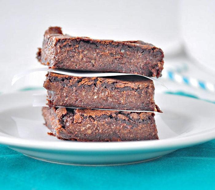 Fudgy Flourless Brownies