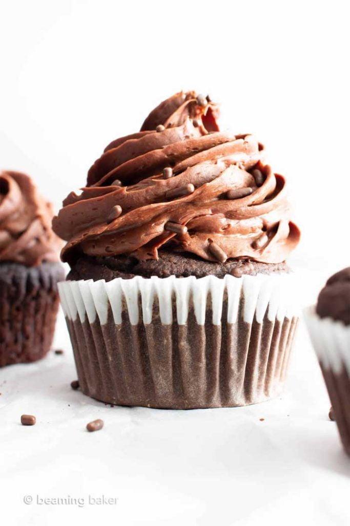Gluten-Free Vegan Gluten Free Chocolate Cupcakes