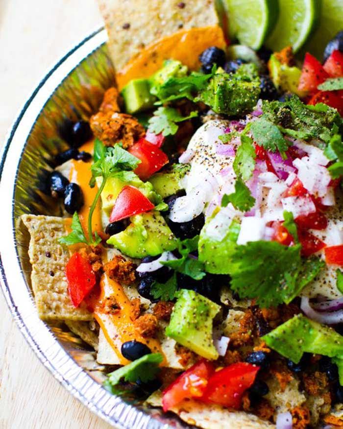 Cinco De Mayo Vegan Nachos