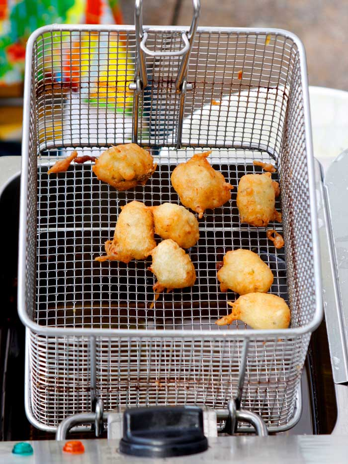 home kitchen deep fryer