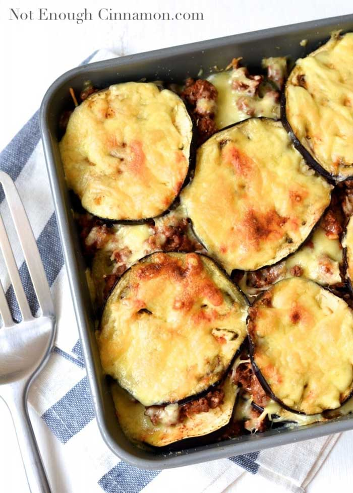 Beef and Eggplant Casserole