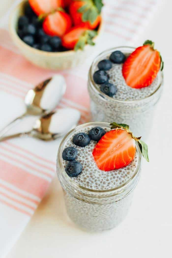 Easy 4-Ingredient Chia Pudding