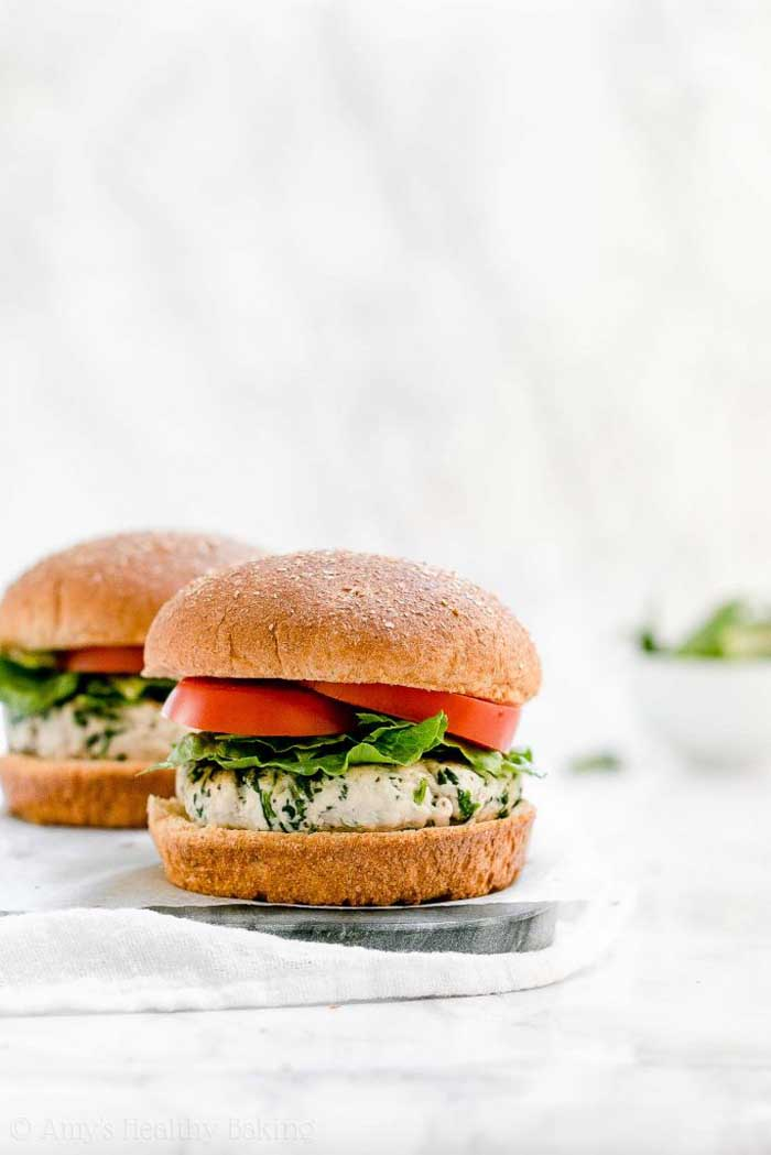 The Ultimate Healthy Turkey Burgers