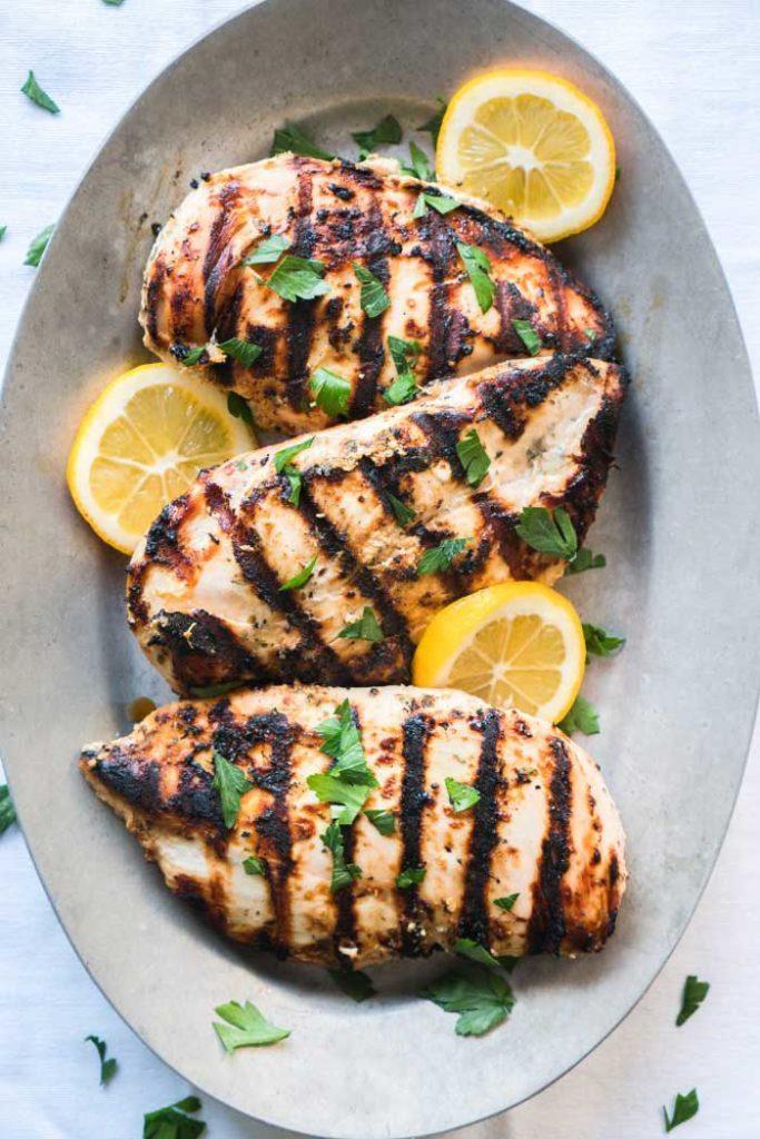 Yogurt Marinated Greek Chicken