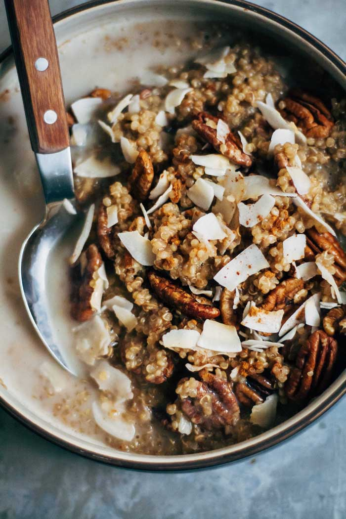 Vegan Chai Breakfast Quinoa