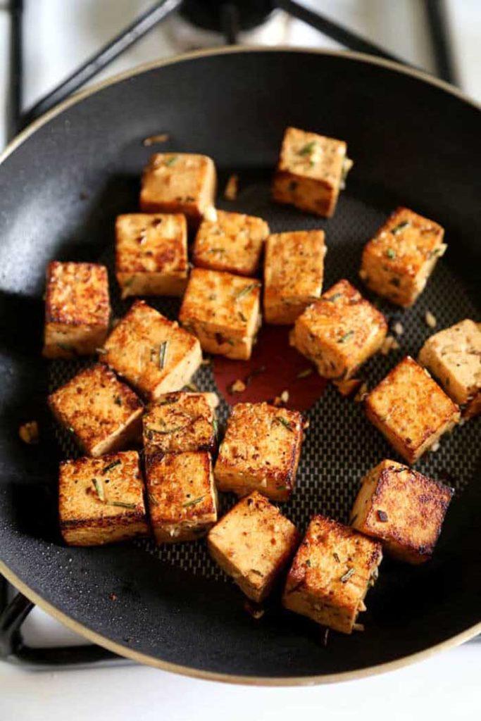 London Broil Marinated Tofu