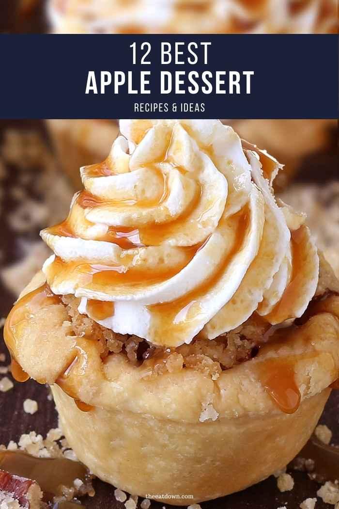 apple desserts pinterest