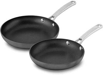 Calphalon 2 Piece Classic Nonstick Frying Pan Set