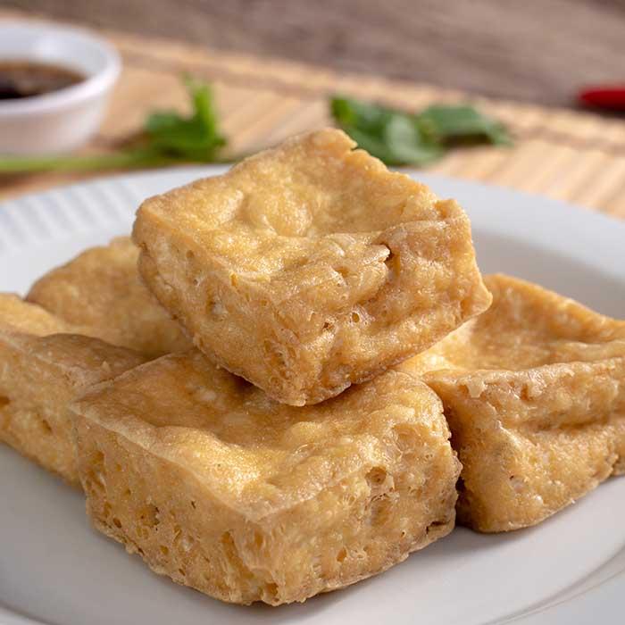 Deep fried stinky tofu fermented bean curd