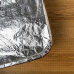 Aluminum Foil in Oven