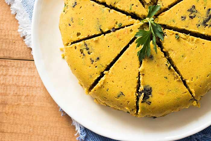 Vegan carrot pumpkin cheese