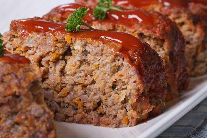 beef meatloaf no breadcrumbs