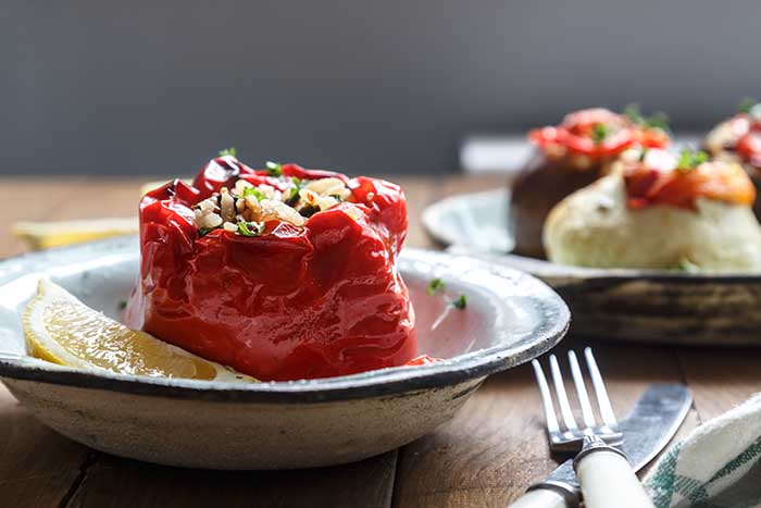 Persian Stuffed Bell Peppers
