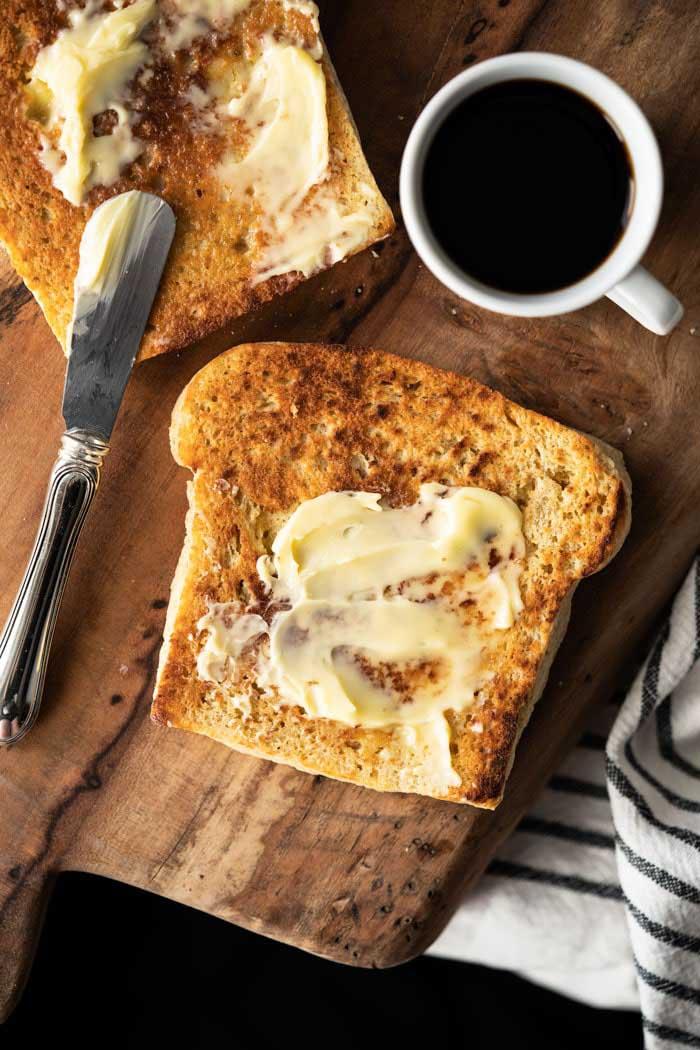 Gluten-Free & Keto 90-Second Bread