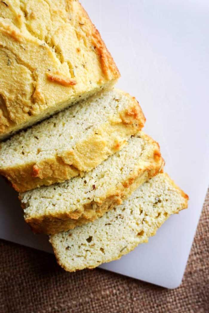 Butter, Cream of Tatar & Almond Flour bread