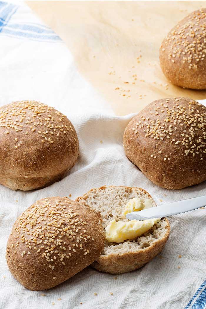 Almond Flour & Sesame Seeds
