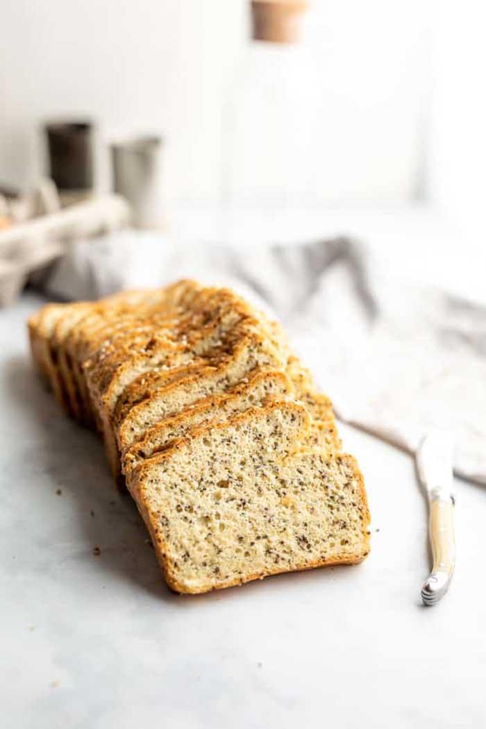 Seeded Almond Flour Bread