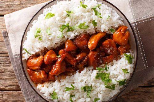 bourbon street chicken on rice recipe