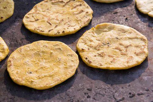 reheating corn tortillas