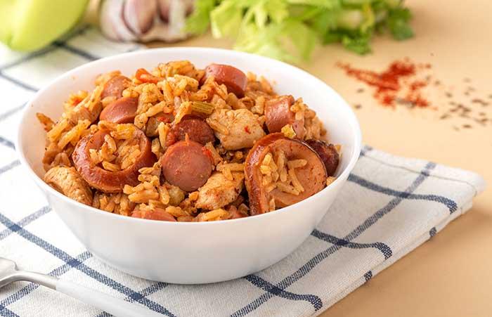 creole red jambalaya