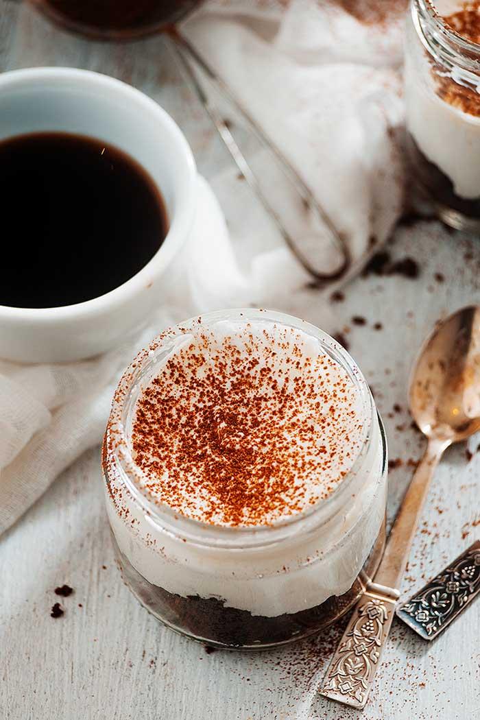 easy chocolate tiramisu in a jar recipe
