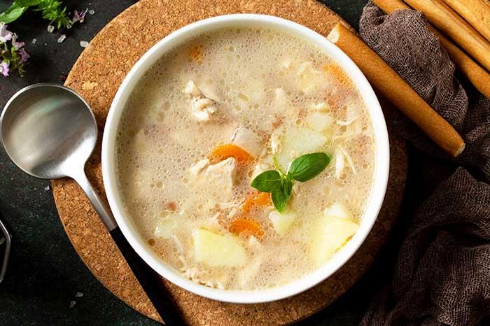 ground chicken potato soup