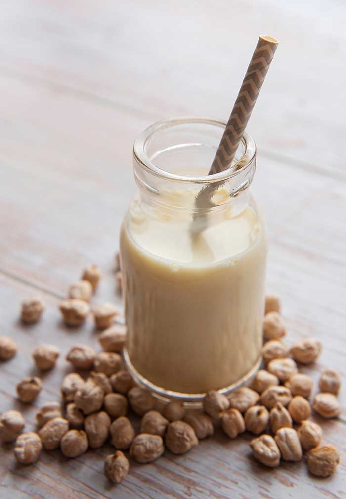 homemade chickpea milk recipe