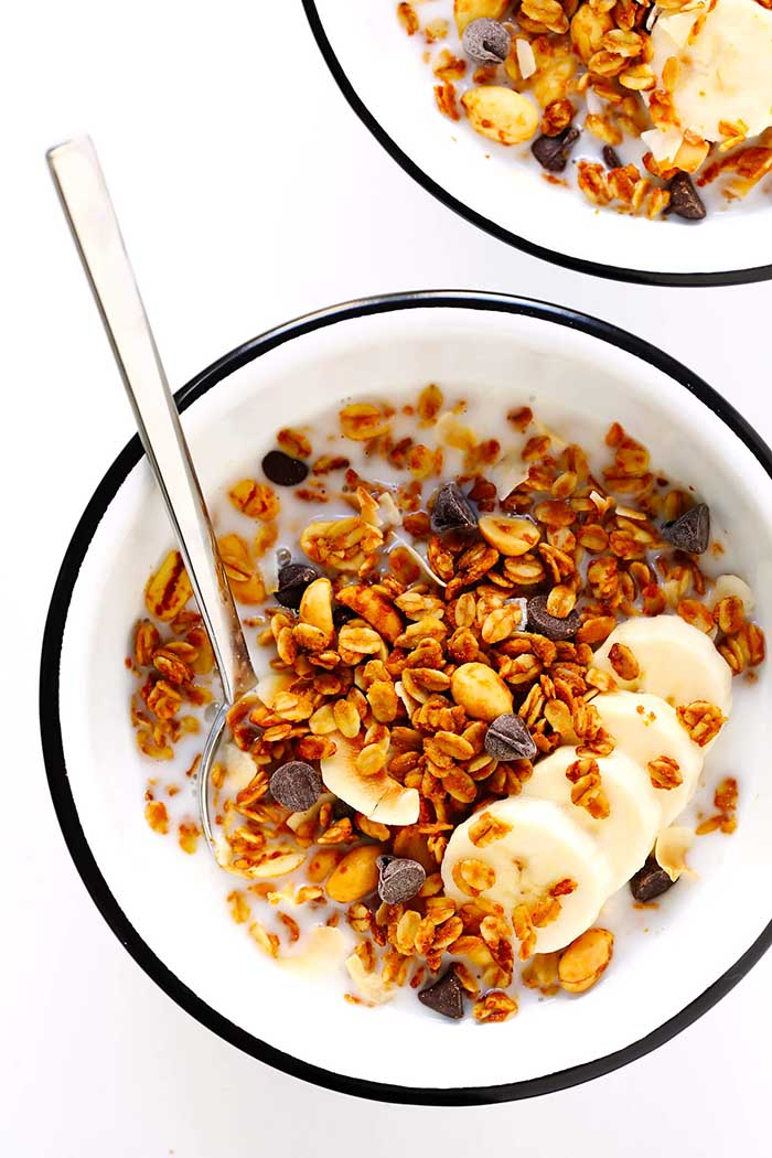 Irresistible Peanut Butter Granola