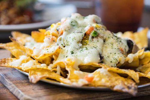 how to reheat nachos