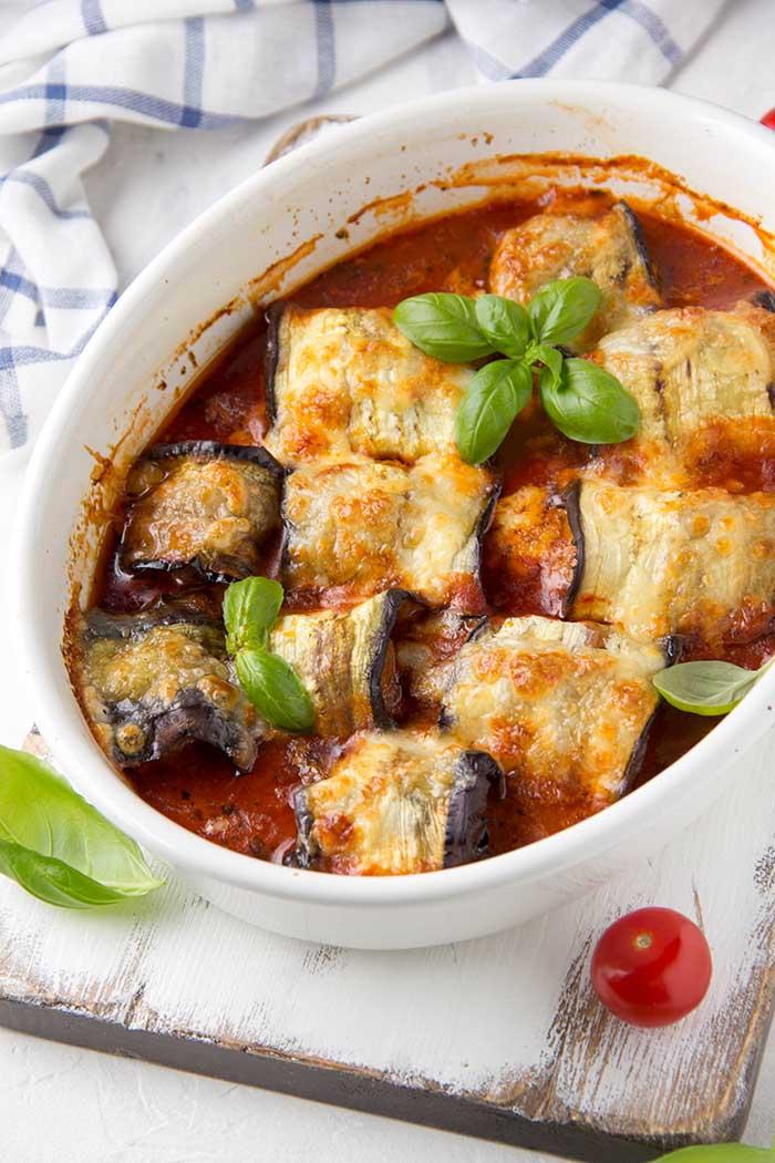 keto eggplant aubergine dinner