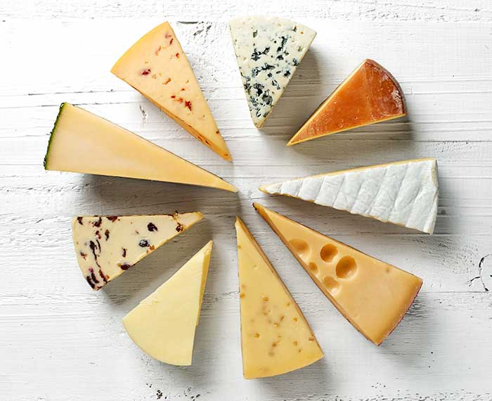 best types of cheese